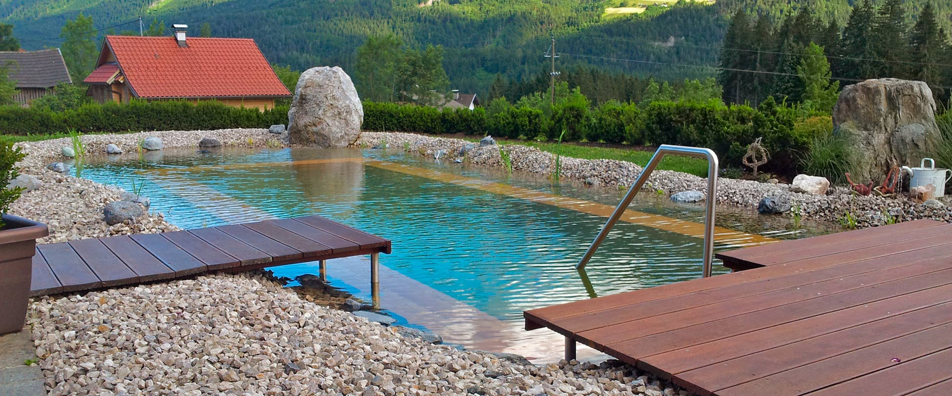 holc naturpool swimmingpool aus holz einbauen