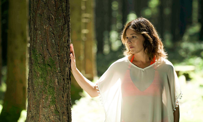 Holc Naturpools Schauspielerin Julia Cencig